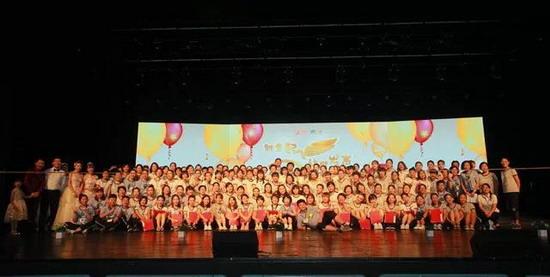 雏鹰起飞 让梦发声 京津区2018毕业典礼隆重举行