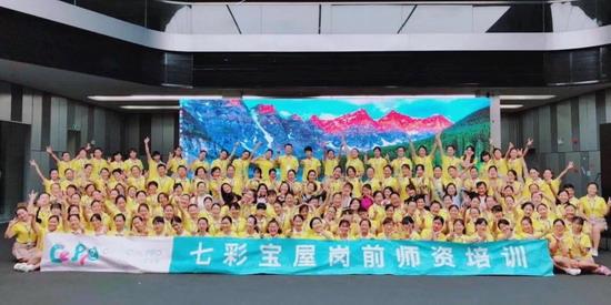 七彩宝屋举办第十二届岗前培训